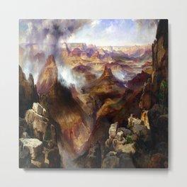 Thomas Moran Grand Canyon of the Colorado River Metal Print