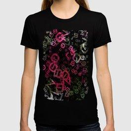 Crape Myrtle Letters 3 T-shirt