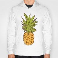 pineapples Hoodies featuring Pineapples by Stephanie Keir