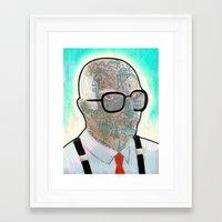 sopranos Framed Art Prints featuring THE SOPRANOS - Corrado Jr. by VIVA LA GRAPH!
