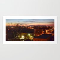 Augusta, GA Downtown Art Print