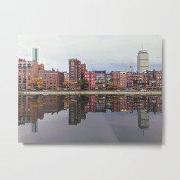Pink Reflections Metal Print