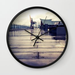 Olympia waterfront  Wall Clock