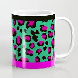 Urban Jungle - Leopard Pattern Pink Coffee Mug