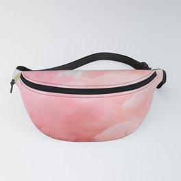 Pink smoke marble art  Fanny Pack