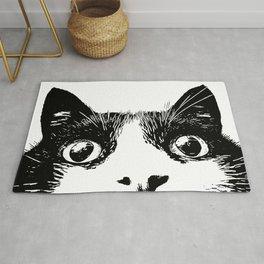 pussycat cat Rug