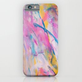 Finding Happiness iPhone Case