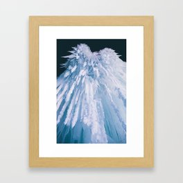 Icicle Art Framed Art Print
