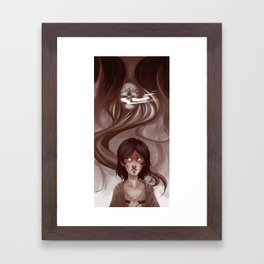Uneternal Sleep Framed Art Print