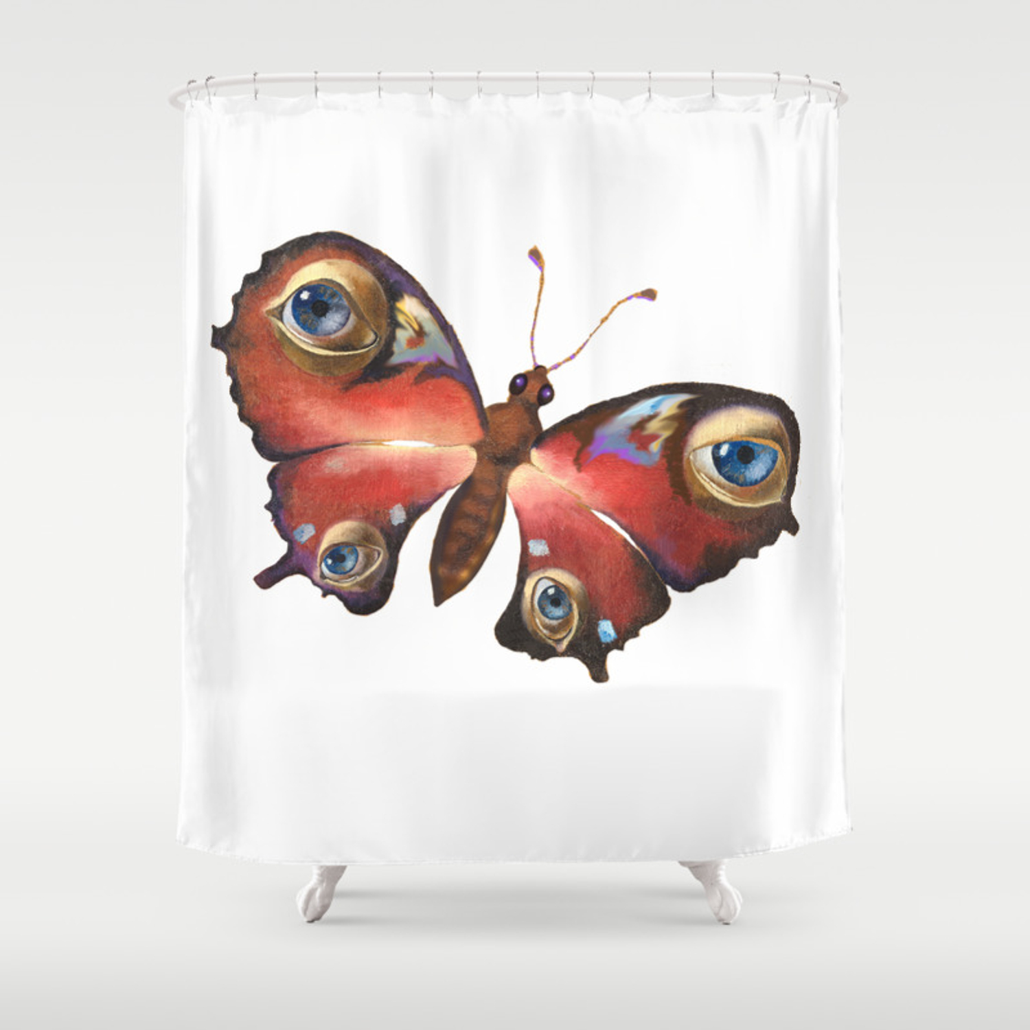 Butterfly Shower Curtain By Truhelen Society6