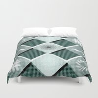 pyramid Duvet Covers featuring Pyramid by MJ Mor