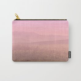 Pink Landscape - #society6 #buyart Carry-All Pouch