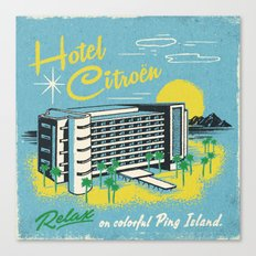 HOTEL CITROEN Canvas Print