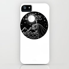 I love you to the moon and back Slim Case iPhone (5, 5s)