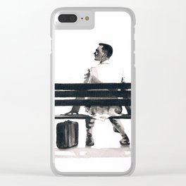 Forrest Gump Clear iPhone Case
