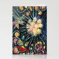 big bang Stationery Cards featuring Big Bang by Diane Sherman