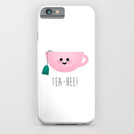 Tea-Hee iPhone Case