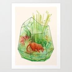 Tigerrarium Art Print