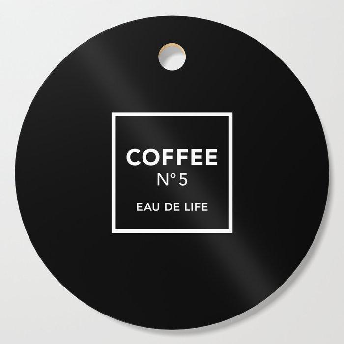 Black Coffee No5 Cutting Board