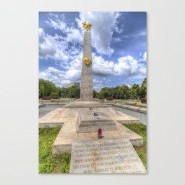 Russian World War 2 Memorial Budapest Canvas Print
