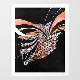 Coruja Art Print