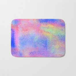 Where There's Life, There's Hope: Abstract Design Bath Mat