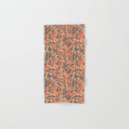 Beetles on Autumn Leaves Hand & Bath Towel
