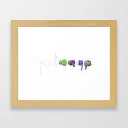 Designed Framed Art Print