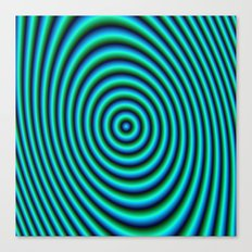 Turquoise Rings Canvas Print