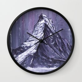 The Matterhorn Wall Clock