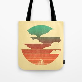 Go West (cycling edition) Tote Bag