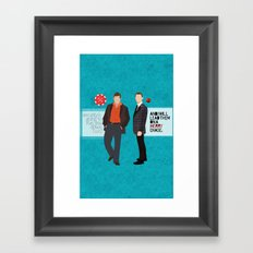 Security Framed Art Print
