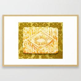 Custard Cream Dream Framed Art Print