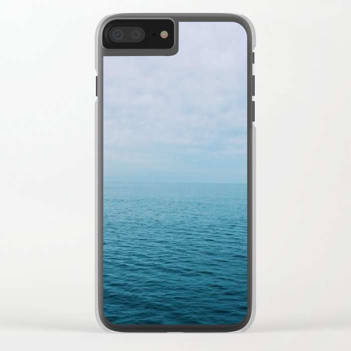 The Endless Sea Clear iPhone Case