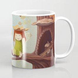 Leafed Coffee Mug