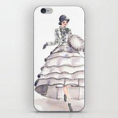Art Deco Feminine Equestrian iPhone & iPod Skin