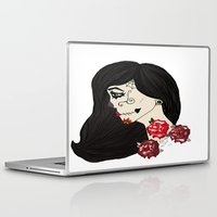 gypsy Laptop & iPad Skins featuring gypsy by Zombie Doll  Clothing & Art