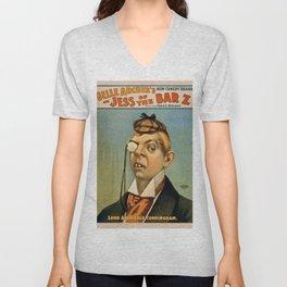 Vintage poster - Lord Archibald Cunningham Unisex V-Neck