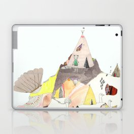 Kids Discover Magic Mountain Laptop & iPad Skin