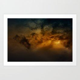 Gloomy Sky 0019 Art Print