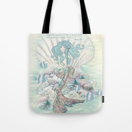Anais Nin Mermaid [vintage inspired] Art Print Tote Bag