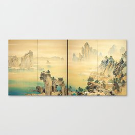 Good Omen - Yamamoto Shunkyo Canvas Print