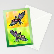 Goth Moth Stationery Cards