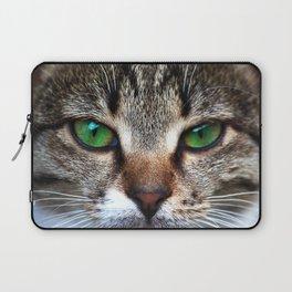 Staring Cat Laptop Sleeve