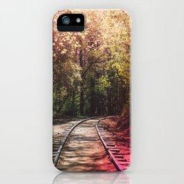Great Adventures Ahead iPhone Case