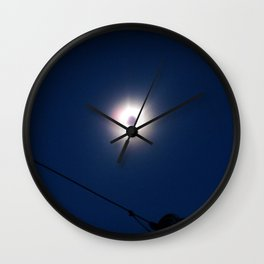 Total Eclipsy Eclipse 4 - 2017 Wall Clock