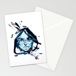 Esprit bleu Stationery Cards