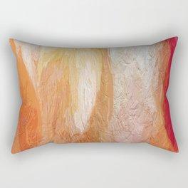 411 - Abstract Colour Design Rectangular Pillow