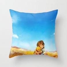 Everything is Right Throw Pillow