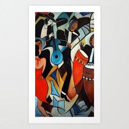 Copa Cabana Art Print